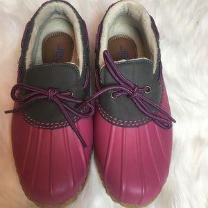 Jambu Pink Waterproof Shoes Size 6